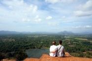 Sri Lanka Sigiriya Ausblick von oben