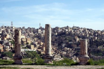 Amman Blick vom Zitadellenhügel