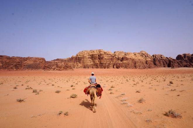 Auf dem Kamelrücken durch die Felsenwüste