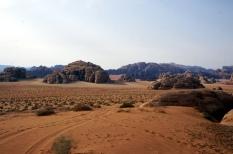 Landschaft Wadi Rum