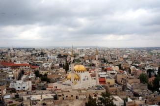 Madaba Blick auf die Stadt