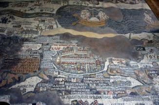 Madaba Mosaikkarte