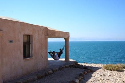 Relaxen in den Wadi Mujib Chalets