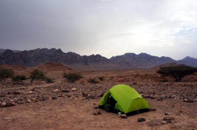 Tag1 Camp in Wadi Malaga
