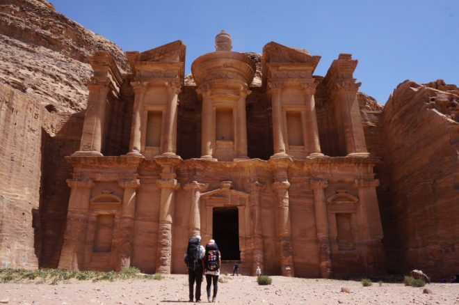 Tag4 Ankunft in Petra