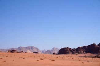 Wadi Rum die Felsenwüste