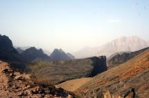 Ausblicke Wadi Bani Awf