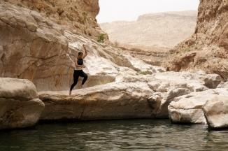 Baden im Wadi Bani Khalid
