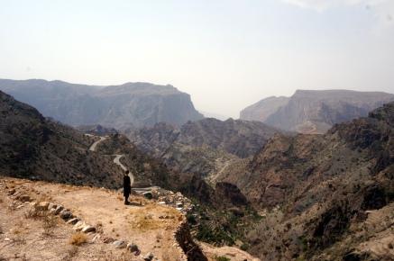 Blick vom Jabal Akhdar
