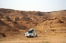 Camp im Wadi Shuwaymiyah