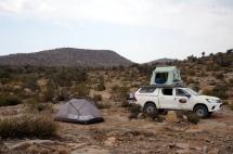 Camping auf dem Jabal Akhdar
