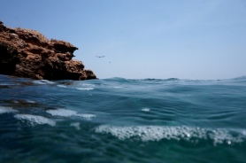 Daymaniyat Islands im Wasser