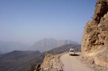 Fahrt durch das Wadi Bani Awf