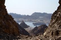 Muscat Blick nach Muttrah