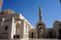 Muscat Große Moschee außen