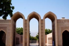 Muscat Große Moschee Torbögen