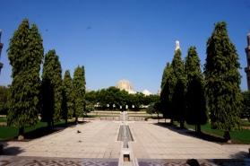 Muscat Große Moschee von außen