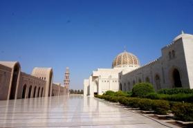 Muscat Große Moschee
