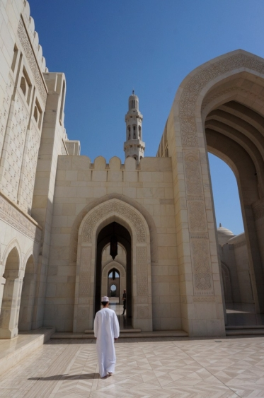 Muscat in der Großen Moschee