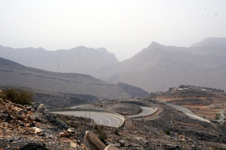Straße auf den Jabal Akhdar
