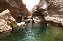 Wadi Shab Becken